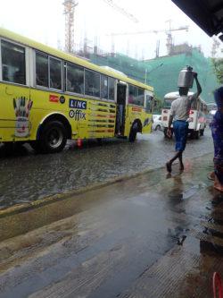Déluge à Yangon