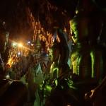 Bouddhas dans la grotte de Pindaya