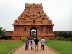 Temple de Brihadesvara à Tanjore