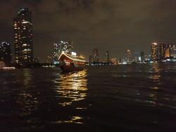 Bateau sur le Chao Phraya