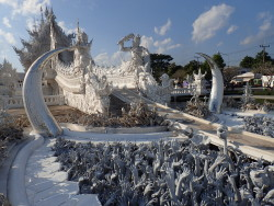 Le temple blanc : Wat Rong Khun