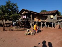 Village à Luang Namtha
