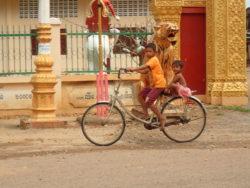 Enfants à Battambang