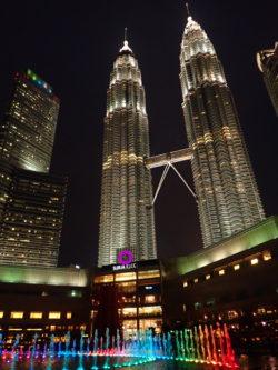 Les tours Petronas à Kuala Lumpur