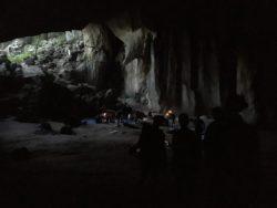 Dans la grotte !