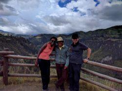 Le canyon de Toachi